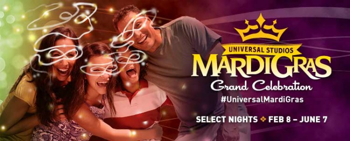 Universal Orlando's Mardi Gras Celebration Line-Up including Robin Thicke