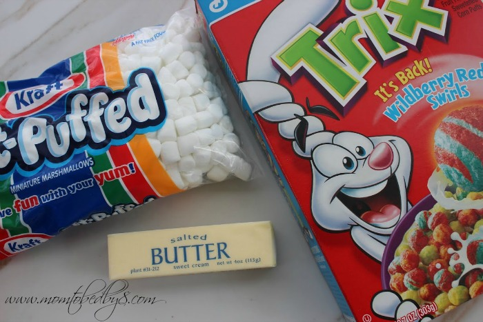 Trix Bars Ingredients