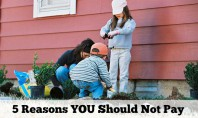 5 Reasons YOU Should Not Pay Your Kids to Do Chores