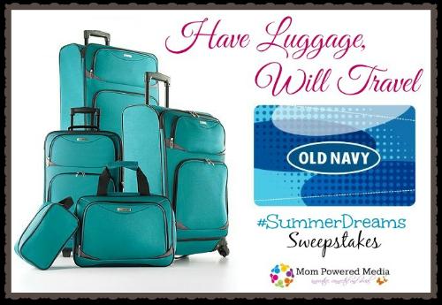 Tag Coronado II Luggage Set & $150 Old Navy Gift Card Giveaway #SummerDreams