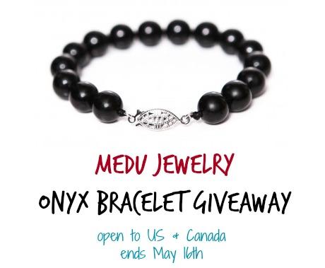 Medu Jewelry Onyx Bracelet Giveaway