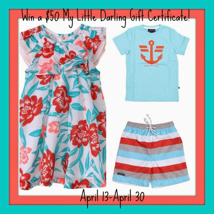 My Little Darling Gift Certificate Giveaway