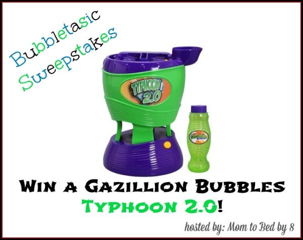 typhoon bubble machine
