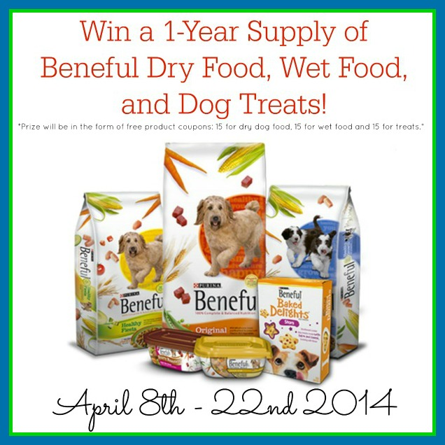 Year Supply of Beneful Dog Food Giveaway