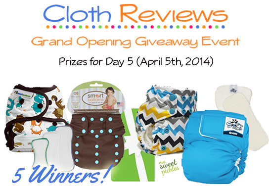 SoftBums Omni, Rumparooz, Smart Bottoms and Best Bottom Cloth Diaper Giveaway #24Flash