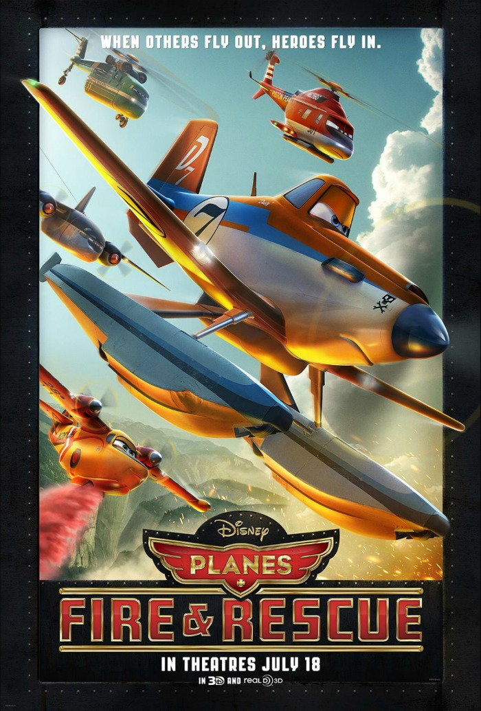 """Checkout the new """"Planes: Fire & Rescue"""" trailer"""