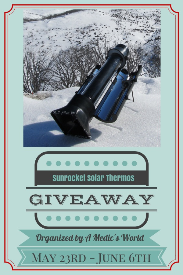 Sunrocket Solar Hot Water Kettle and Thermos Giveaway