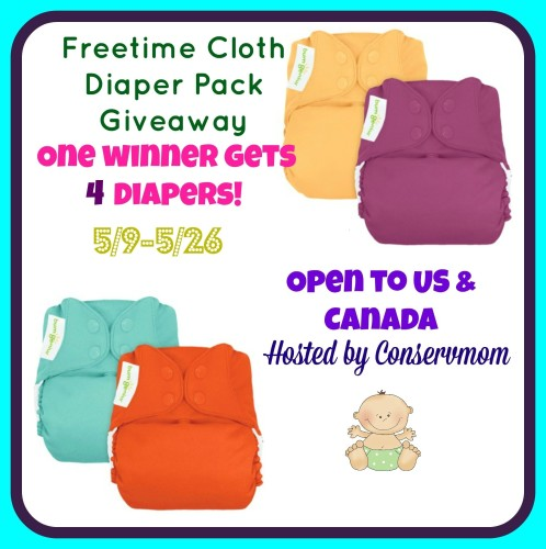 bumGenius Freetime Cloth Diapers Giveaway