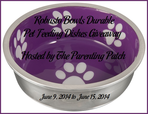 Robusto Bowls Durable Pet Feeding Dishes Giveaway