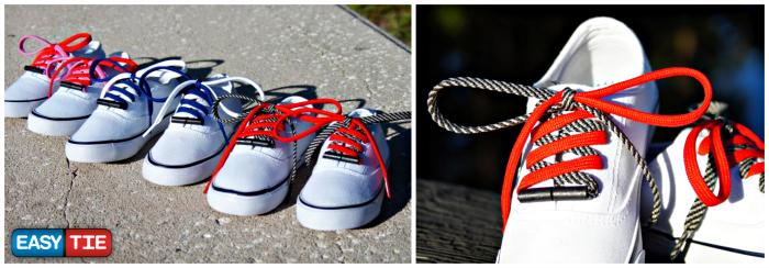Easy Tie Shoelaces + Amazon Gift Card Giveaway