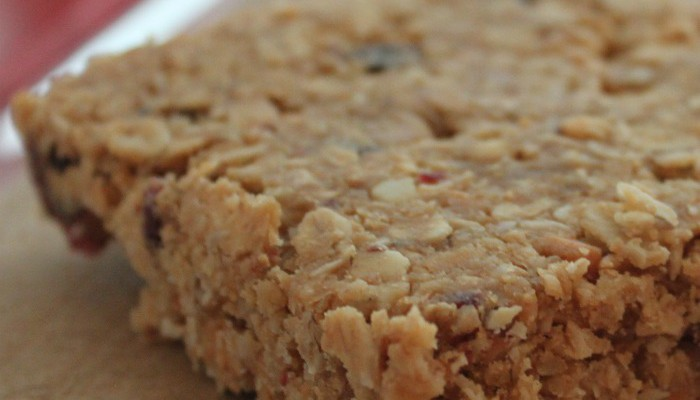 Homemade Organic Granola Bars Recipe