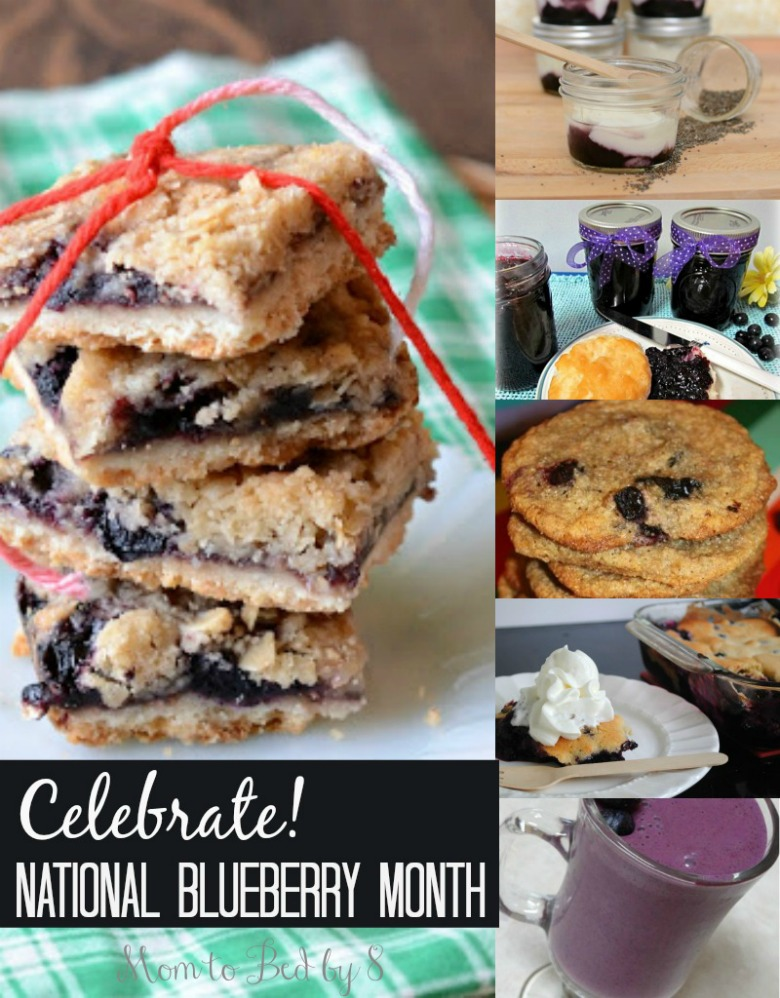 celebrate national blueberry month