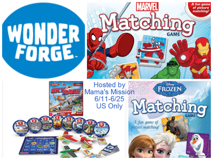 Wonder Forge Disney Frozen Matching Game or Disney Planes Sky Race Game Giveaway