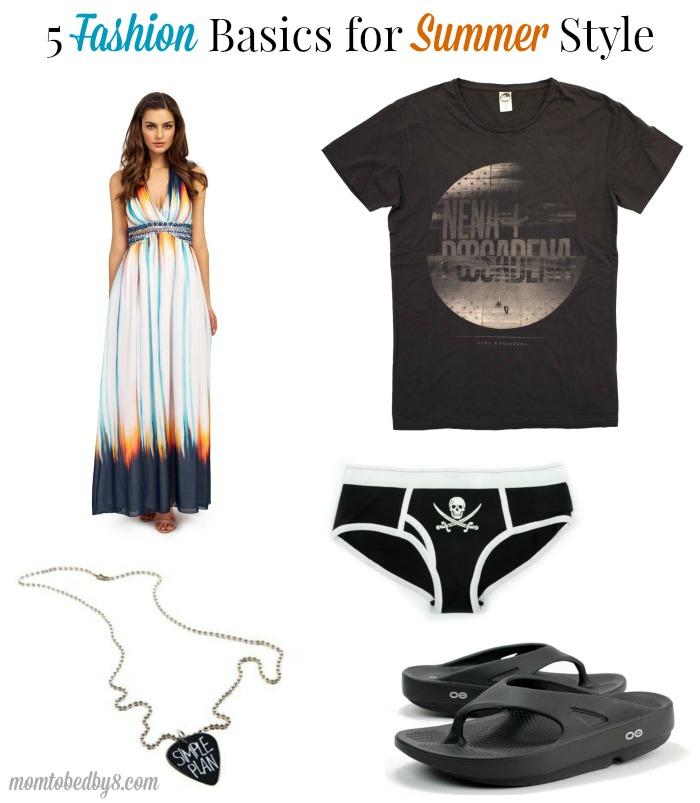 5 Fashion Basics for Summer Style