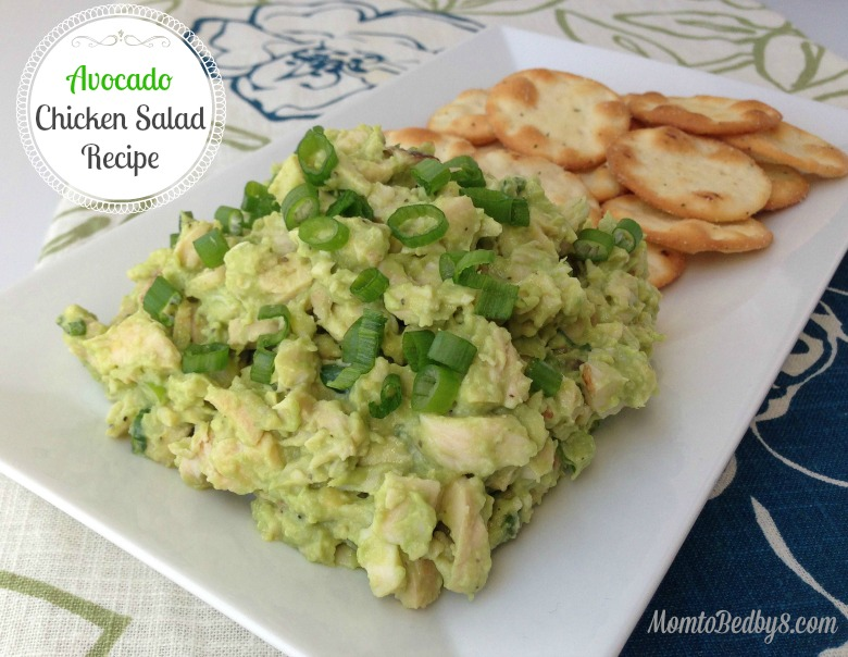 Avocado Chicken Salad Recipe - Motherhood Defined