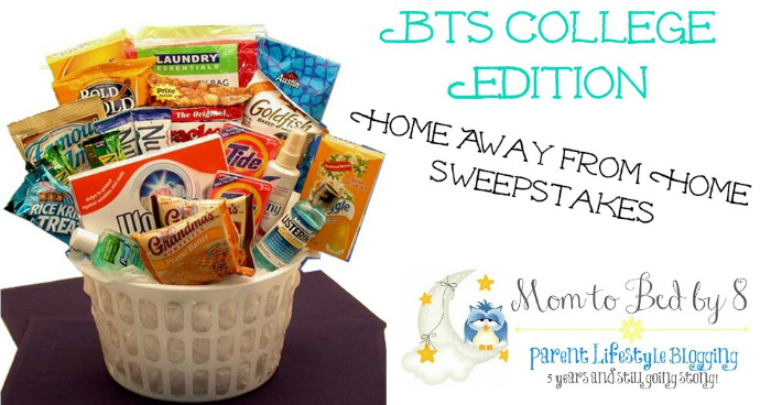 BTS First Time Away From Home Gift Basket Giveaway