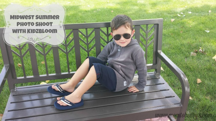 Midwest Summer Photo Shoot with KidzBloom
