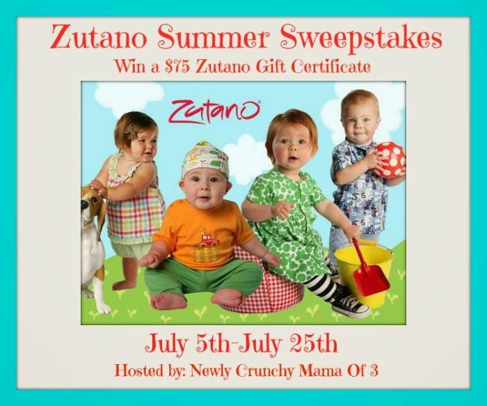 $75 Zutano Gift Certificate Giveaway