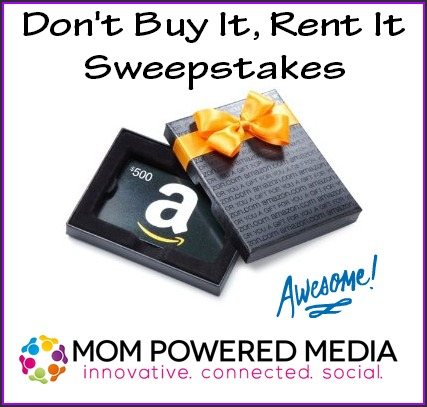 Don't Buy It Rent It Sweepstakes