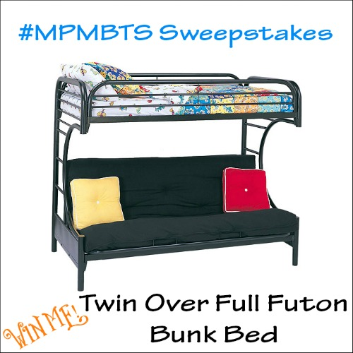 Futon Bunk Bed & Dorm Laundry Kit Giveaway