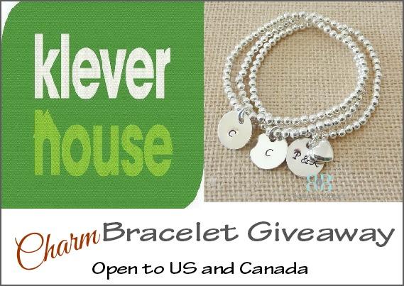 Charm Bracelet Giveaway *sponsored by Klever House