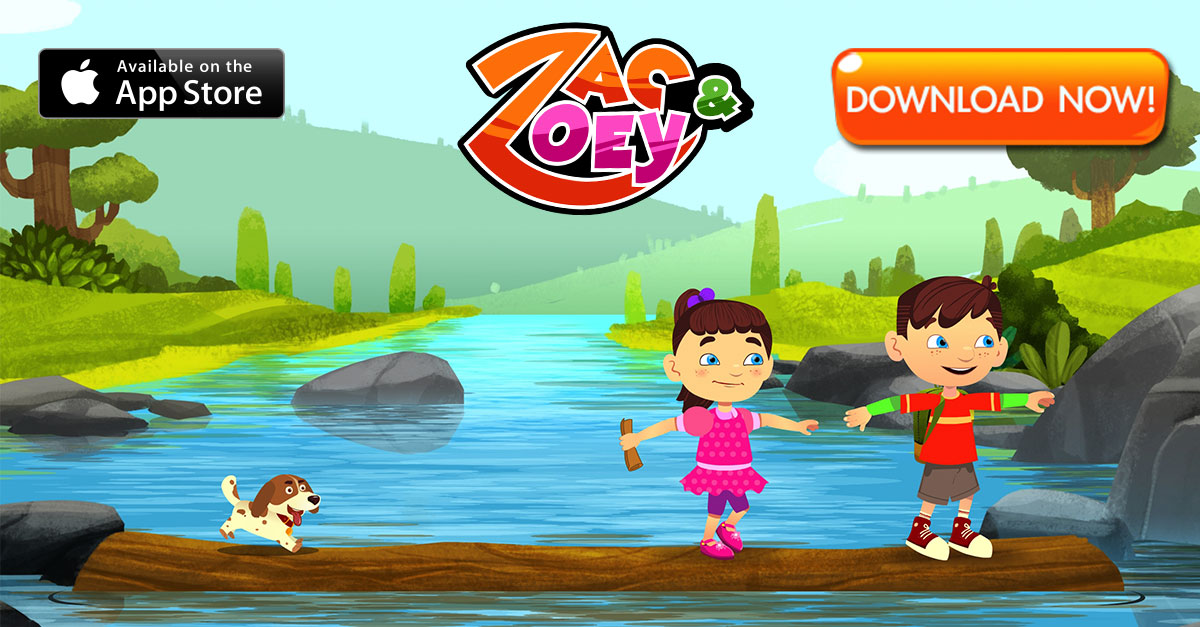 Zac and Zoey Interactive Children's App + $100 iTunes Gift Card Giveaway