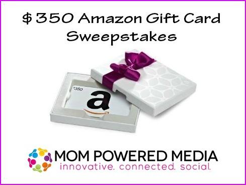 $350 Amazon Gift Card Giveaway