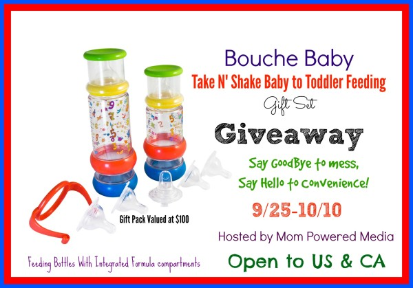 The  Bouche Baby Take N' Shake Giveaway