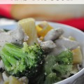 Garlic Chicken and Broccoli Recipe
