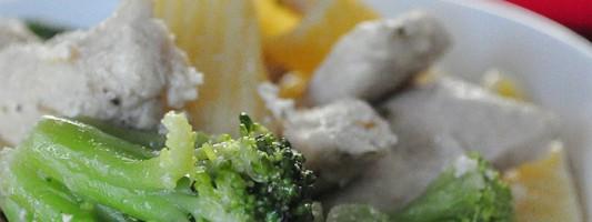 Garlic Chicken and Broccoli Recipe
