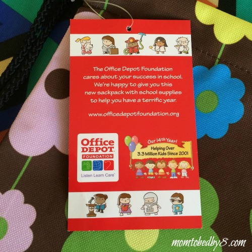 Office Depot National Backpack Program