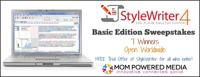 Edit like a pro with StyleWriter 4 + 7 winner Giveaway