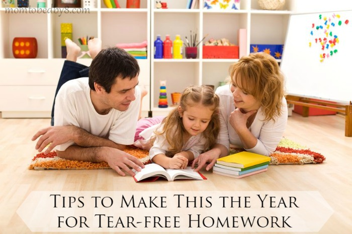 Tips to Make This the Year for Tear-free Homework