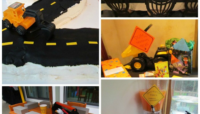 How to Throw a Construction Themed Birthday Party