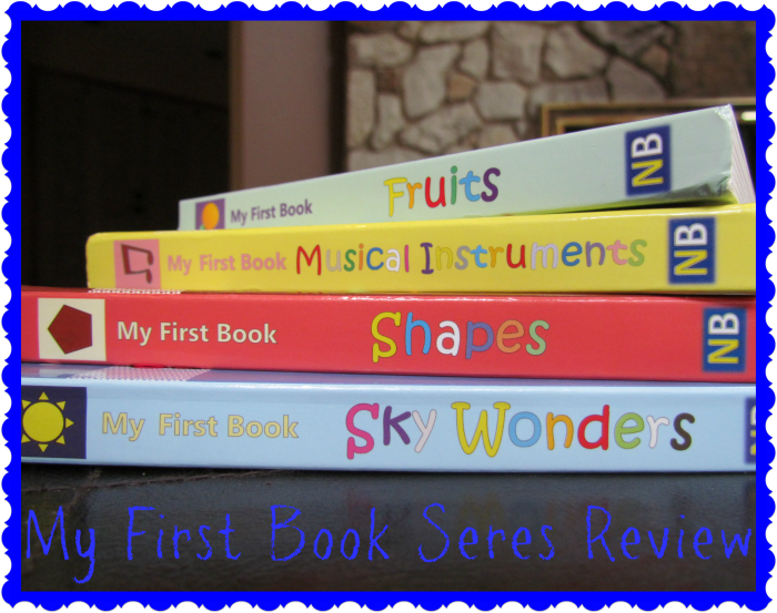 """My First Book"" Series by Nursery Books"