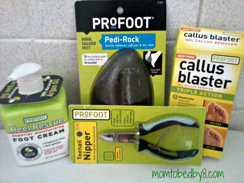 Let ProFoot help with the dreaded man feet!