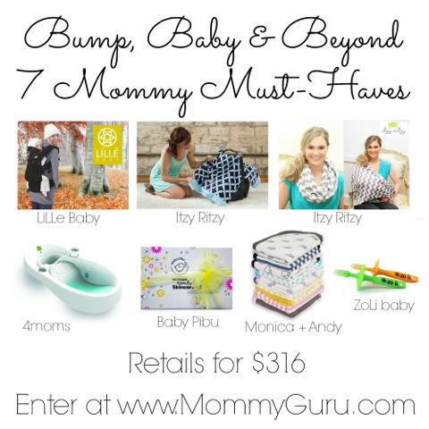 7 Must Haves for Baby Giveaway