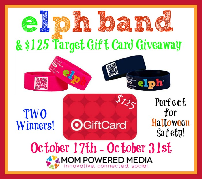 Keeping your child safe with ELPH band! + $125 Target Gift Card Giveaway *2 winners*