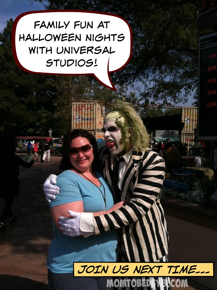 Family Fun At Halloween Nights With Universal Studios!