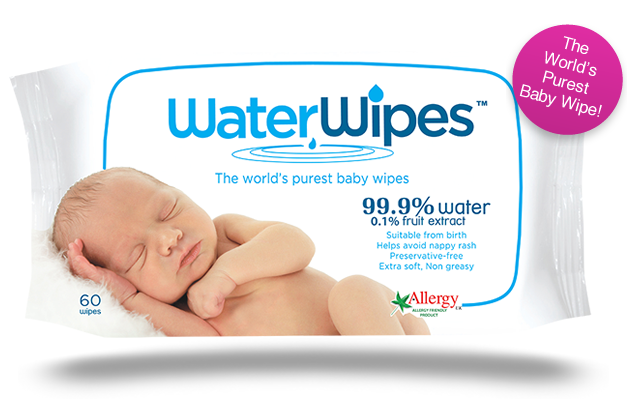 WaterWipes Natural Baby Wipes Review & Giveaway