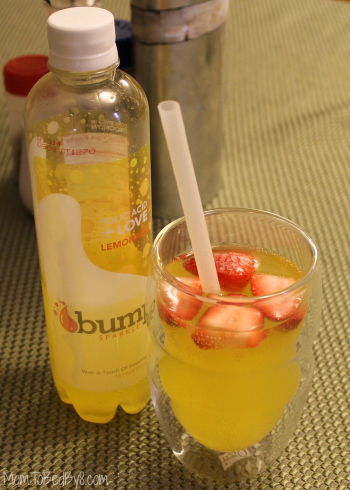 Checking Out Sparkling Bump Water