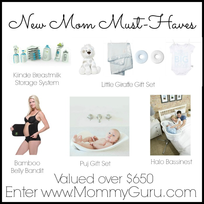 $650 New Mom Must-Haves Giveaway