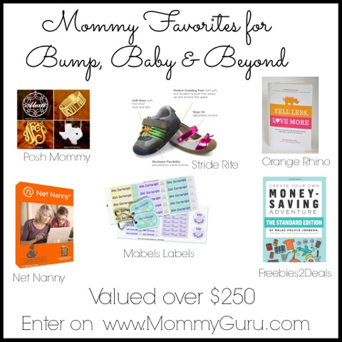 Mommy's Favorites Giveaway
