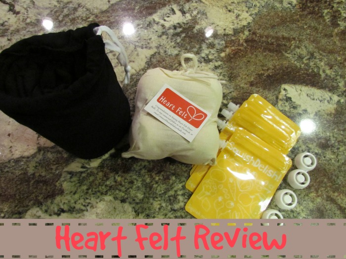 Heart Felt Baby Wrap, Dryer Balls and SquishDelish Review & Giveaway