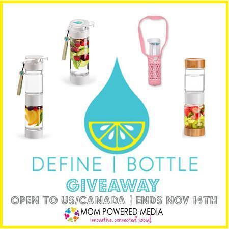 Define Bottle Makes Creating Your Own Flavored Waters With Ease + MPMHGG Giveaway