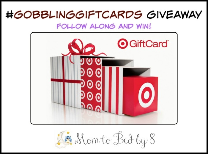 Target Gift Card Giveaway #GobblingGiftCards