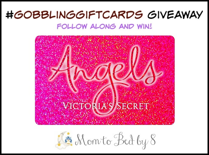 $25 Victoria's Secret Gift Card Giveaway #GobblingGiftCards