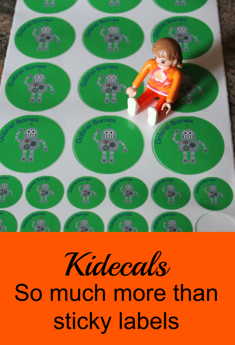 Kidecals – Much more than a sticky label