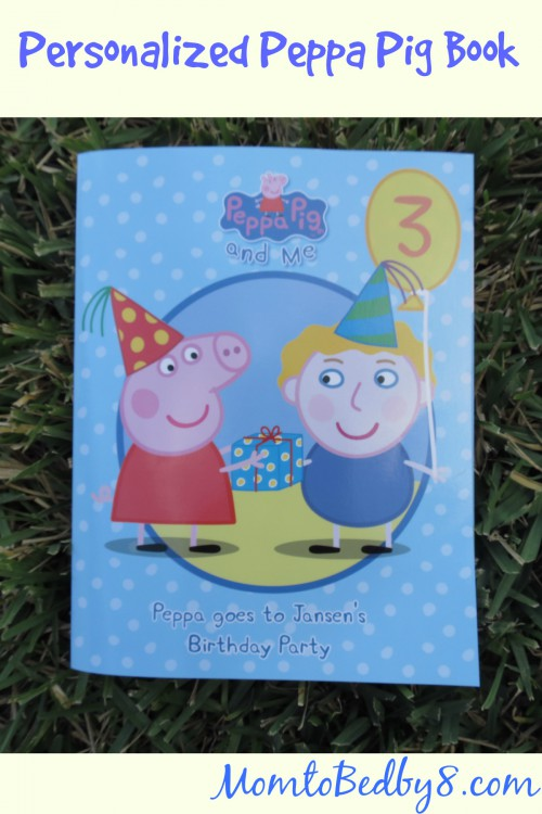 Personalized Peppa Pig Book Review & Giveaway