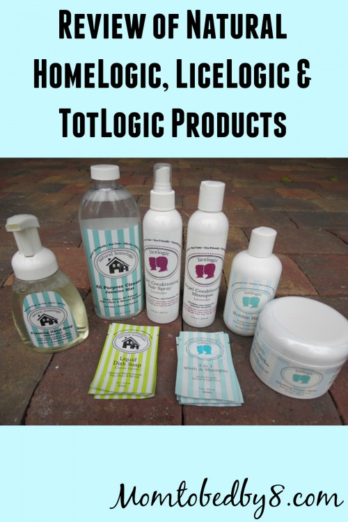 Review of Natural HomeLogic, LiceLogic and TotLogic Products
